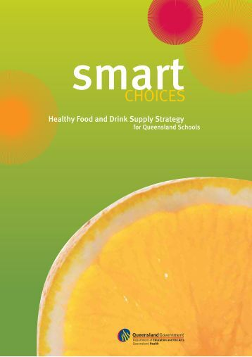 Smart Choices - Healthy Food and Drink Supply Strategy for ...