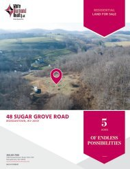 48 Sugar Grove Road Marketing Flyer