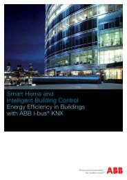 Smart Home and Intelligent Building Control Energy Efficiency in ...