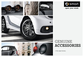 smart fortwo gennuine accessories brochure. smart USA - Smart Car