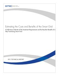 Estimating the Costs and Benefits of the Smart Grid: A Preliminary ...