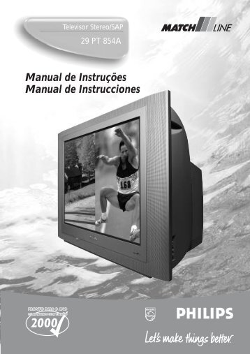 Manual de Instruções Manual de Instrucciones - Philips