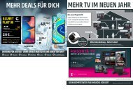 Telekom Monatsflyer Januar 2021