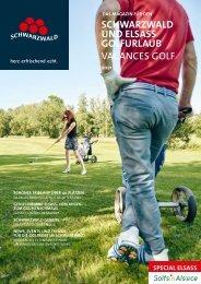 Magazin für den Schwarzwald und Elsass Golfurlaub 2021