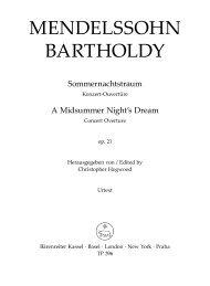 MENDELSSOHN BARTHOLDY - Clarius Audi