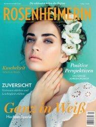 Rosenheimerin Neujahrsausgabe Hochzeit Spezial