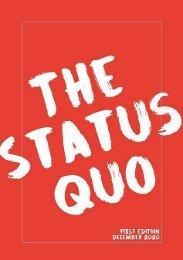 The Status Quo - Issue 1