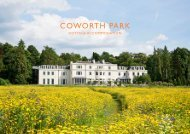 Coworth Park Cottages Accommodation Spring Summer