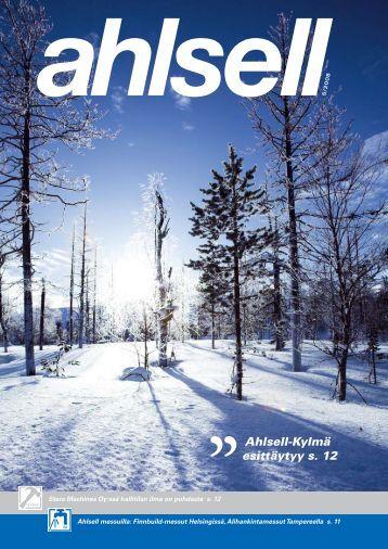 Ahlsell-Kylmä esittäytyy s. 12