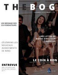 THE BOG (Français)   Numéro de  décembre