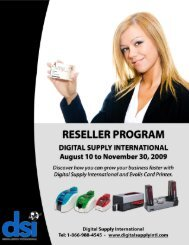 RESELLER PROGRAM - Digital Supply International