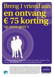 en ontvang € 75 korting - Belgacom