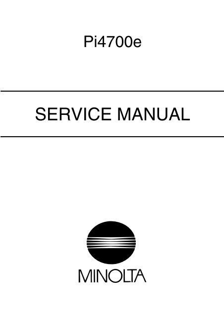 bizhub c451 service manual