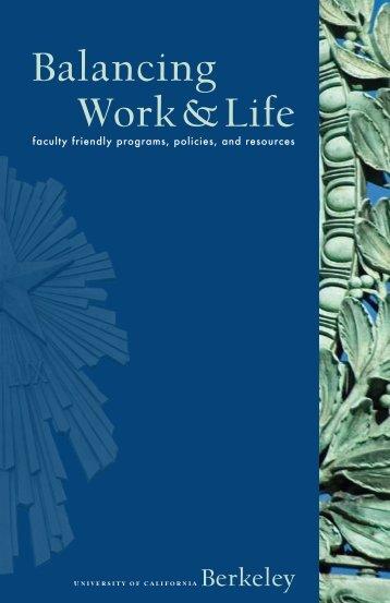 Balancing Work and Life - CALcierge