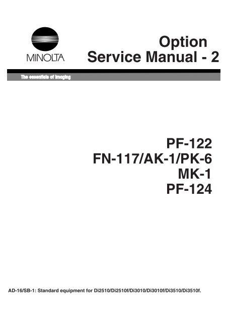 free minolta manuals