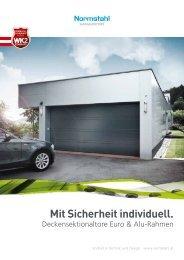 Deckensektionaltore Prospekt (8,6 MB) - Raiffeisen Lagerhaus ...