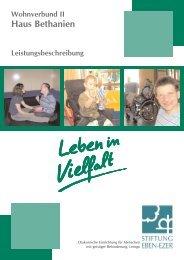 Haus Bethanien - Stiftung Eben-Ezer