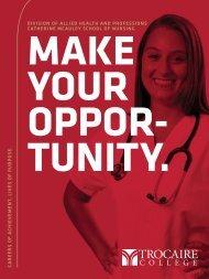Healthcare Viewbook: Make your break.