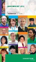 Jahresbericht 2012 - Samariterstiftung