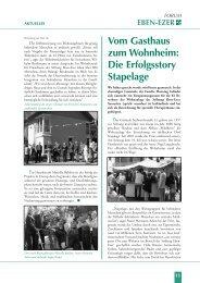 Vom Gasthaus zum Wohnheim: Die Erfolgsstory Stapelage - Stiftung ...