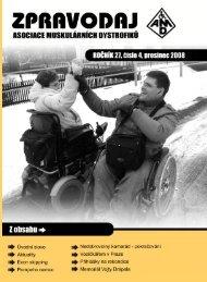 cestování - Asociace muskulárních dystrofiků v ČR