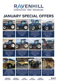 Ravenhill Monthly Featured Machines A4 January 2021 NO CROPS