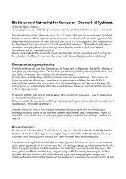 Studietur med Netvrket for Snoezelen i Danmark til Tyskland