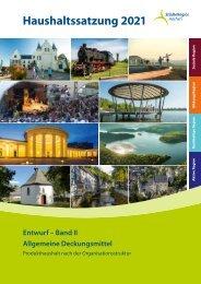 Haushaltsentwurf 2021 (Band II) Allgemeine Deckungsmittel