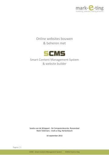 Optionele trainingsmodules - SCMS