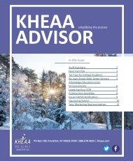 Winter KHEAA Advisor 2020