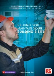 Helping You Maintain Your Building and Site - RS UK