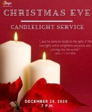 2020 Christmas Eve Service Bulletin