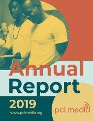 PCI Media - Annual Report 2019
