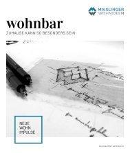 wohnbar Winter 2020 Maislinger