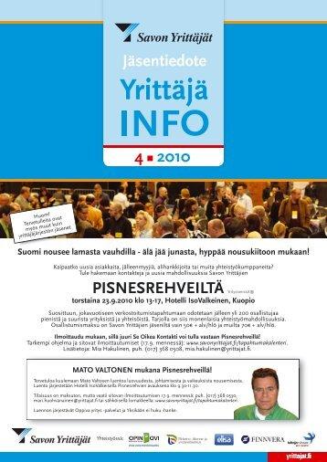 Pisnesrehveillä - Suomen Yrittäjät