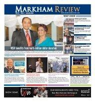 Markham Review, January 2021