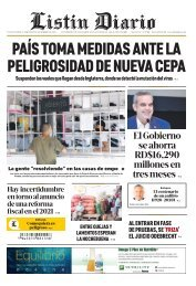 Listín Diario 22-12-2020