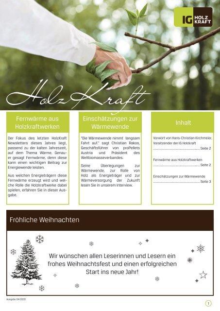 HolzKraft, 04/2020