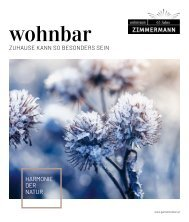 wohnbar Winter 2020 Zimmermann