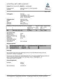 GUTACHTEN zur ABE Nr. 47837 nach §22 Stvzo Anlage 10 zum ...