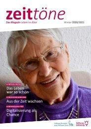 Zeittöne Herbst/Winter 2020/2021 - Stiftung Liebenau