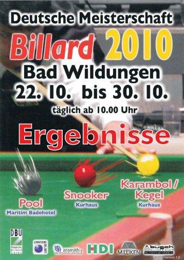 4 - Billardkreis Ruhr-Emscher eV