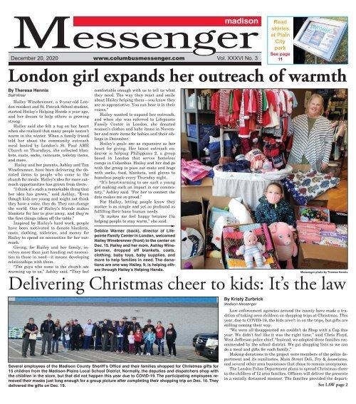 Madison Messenger - December 20th, 2020