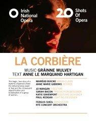 La Corbière Programme Book