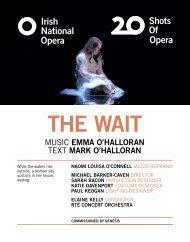 The Wait Programme Book