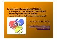La stanza multisensoriale/SNOEZELEN - Azienda pubblica di servizi ...