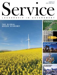 Service - Leadership in Government - Issue 75