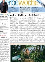 Werbewoche Special - Verband Schweizer Presse