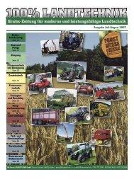 Ausgabe Juli/August 2007 - 100% LANDTECHNIK