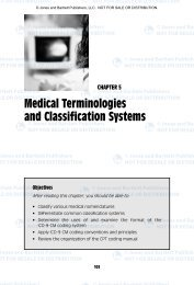 Medical Terminologies and Classification Systems - Jones & Bartlett ...